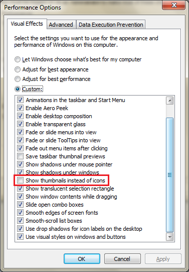 How To Fix Thumbnails Not Showing In Windows 7 - Ticswipe.com