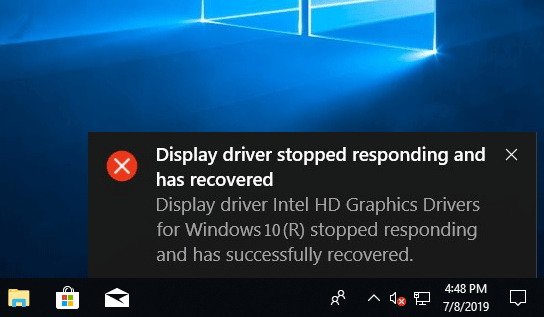 How To Fix Display Driver Stopped Responding And Has Recovered Windows 10 - Ticswipe.com