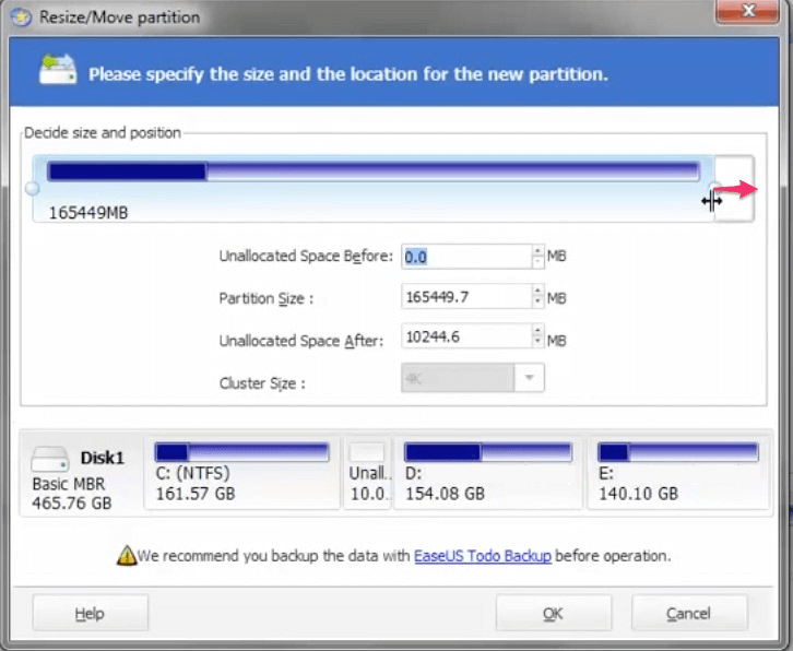 How To Increase C Drive Space In Windows 10 Without Formatting - Ticswipe.com
