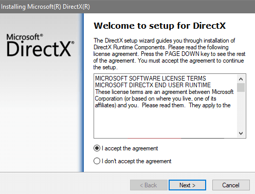 Instructions Download And Install Directx For Windows 10 - Ticswipe.com