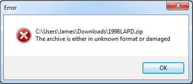 How To Fix WinrarThe Archive Is Either In Unknown Format Or Damaged - Ticswipe.com