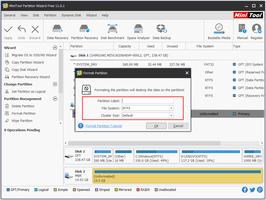 How To FixWindows Was Unable To Complete The Format Windows 10 - Ticswipe.com