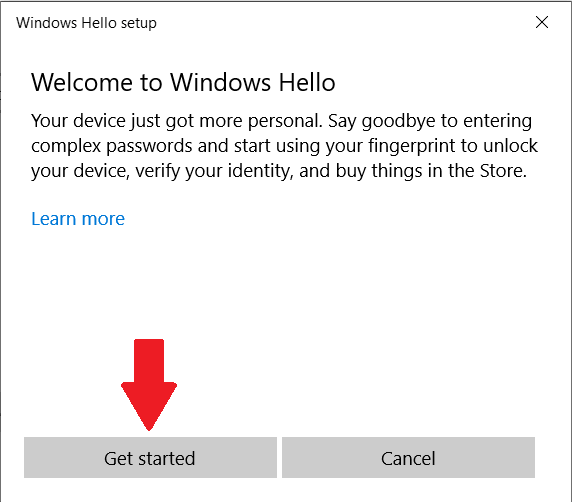 What is Windows Hello? How to install, activate and use Windows Hello - Ticswipe.com