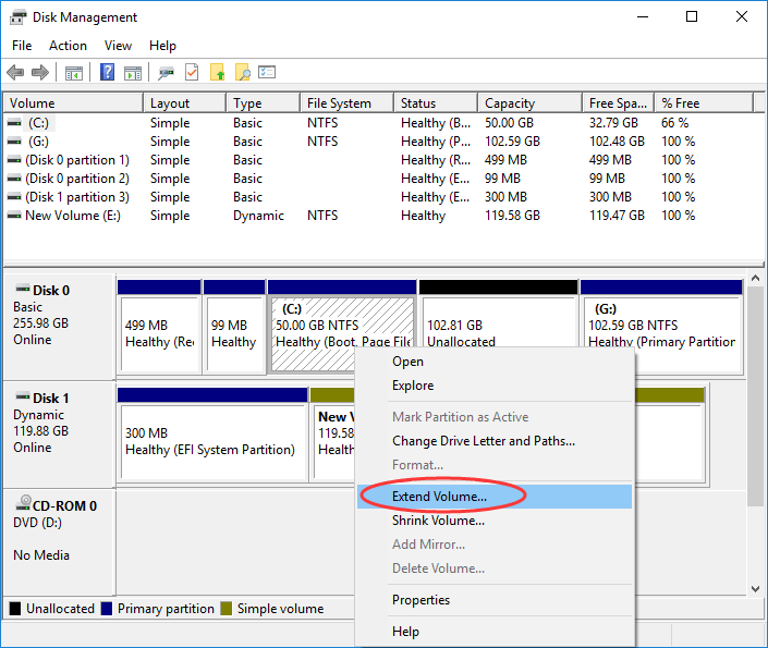 How To Fix Can't Update Windows 10 Not Enough Disk Space - Ticswipe.com