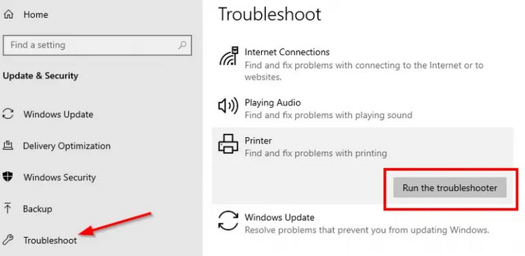 How To Fix Printer Not Showing Up In Devices And Printers - Ticswipe.com
