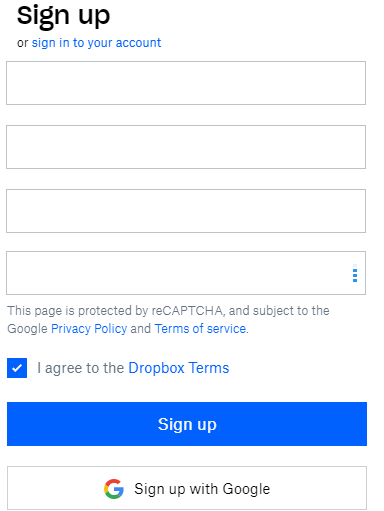 What is Dropbox and How to register and set up a Dropbox account? - Ticswipe.com