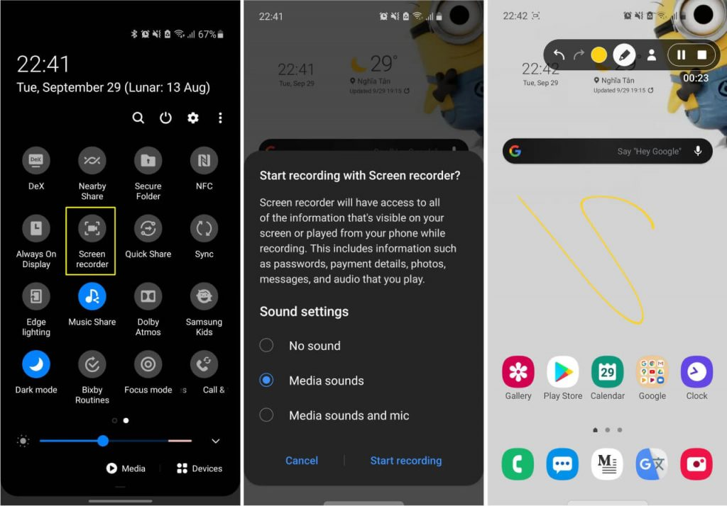 Top 7 Best Screen Recording App For Android - Ticswipe.com